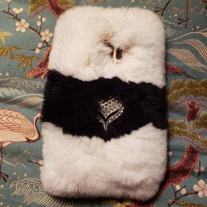Samsung Galaxy s9 Faux Fur Phone Case
